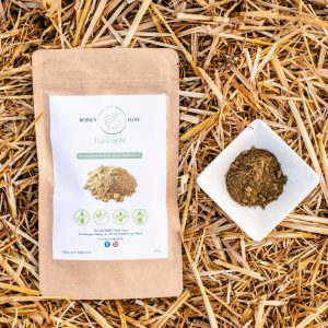 Mehl aus zermahlenen Hanfsamen: Glutenfrei. Laktosefrei, Vegan und ohne Zusätze