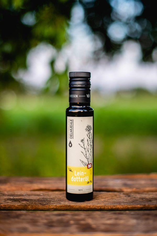 Leindotteröl aus der Chattegauer Ölmanufaktur